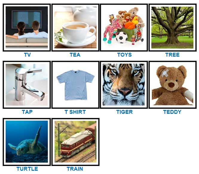 100 Pics Quiz T Is For Answers 100 Pics Quiz Answers